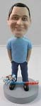 Custom Bobble Head | Hands In Jeans Man Bobblehead | Gift Ideas For Men
