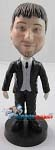 Custom Bobble Head | Suit And Vest Man Bobblehead | Gift For Weddings