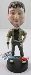 Custom Bobble Head | Casual Male With Sandals Bobblehead | Gift For Men