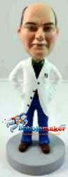 Custom Bobble Head | Lab Coat Doctor Bobblehead | Gift Ideas For Men