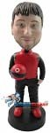 Custom Bobble Head | Pro Race Car Drive Man Bobblehead | Gift Ideas For Men