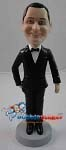 Custom Bobble Head | Classic Tuxedo Man Bobblehead | Gift Ideas For Wedding