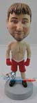 Custom Bobble Head | Male Boxer In Trunks Bobblehead | Gift Ideas For Men