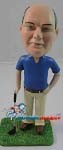 Custom Bobble Head | Man With Golf Club Bobblehead | Gift Ideas For Men