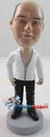Custom Bobble Head | Deep V Shirt Man Bobblehead | Gift Ideas For Men