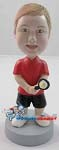 Custom Bobble Head | Kid Tennis Player Bobblehead | Gift Ideas For Men
