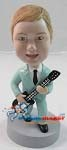 Custom Bobble Head | Kid Guitarist Bobblehead | Gift Ideas For Men