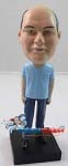 Custom Bobble Head | Man Wearing Scrubs Bobblehead | Gift Ideas For Men
