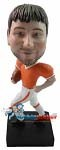 Custom Bobble Head | Running With Football Man Bobblehead | Gift For Men