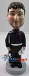Custom Bobble Head | Marine Holding Rifle And Hat Bobblehead | Gift Ideas For Men