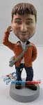 Custom Bobble Head | Casual Male With Satchel Bobblehead | Gift For Men