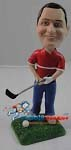 Custom Bobble Head | Golfer Man With Club Bobblehead | Gift Ideas For Men