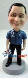 Custom Bobble Head | Paramedic Male Bobblehead | Gift Ideas For Men