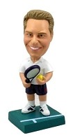 Custom Bobble Head | Male Tennis Player Bobblehead | Gift Ideas For Men