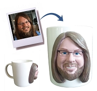 Custom mug to look like your photo