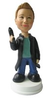 Custom Bobble Head | Secret Agent | Gift Ideas For Men
