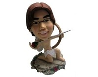 Custom Bobble Head | Cupid With Bow Bobblehead | Gift Ideas For Men