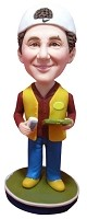 Custom Bobble Head | Foreman Male Bobblehead | Gift Ideas For Men