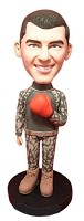 Custom Bobble Head | Boxing Soldier Bobblehead | Gift Ideas For Men