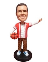 Custom Bobble Head | Pickup Basketball Player Male Bobblehead | Gift Ideas For Men