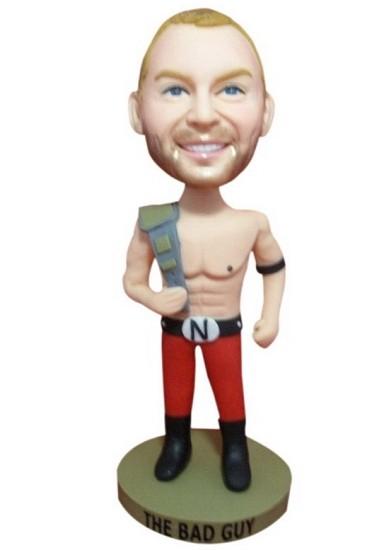 Custom Bobble Head Wrestling Champion Bobblehead Gift Ideas For Men