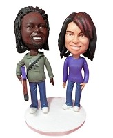 Custom Bobble Head | Rocker Couple Bobblehead | Gifts for Couples