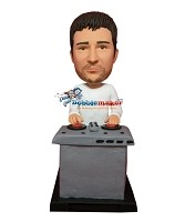 Custom Bobble Head | DJ At Tables Bobblehead | Gift Ideas For Men