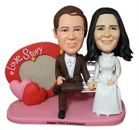 Custom Bobble Head | Love Story Couple Bobblehead | Gift Ideas For Couples