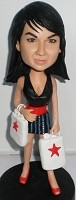 Custom Bobble Head | Super Shopper Bobblehead | Gift Ideas For Women