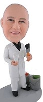 Custom Bobble Head | House Painter Male Bobblehead | Gift Ideas For Men