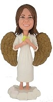 Custom Bobble Head | Female Angel Bobblehead | Gift Ideas For Women