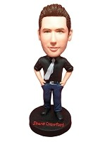 Custom Bobble Head | Tie And Jeans Man Bobblehead | Gift Ideas For Men