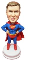 Custom Bobble Head | Superman Hero Bobblehead | Gift Ideas For Men