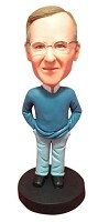 Custom Bobble Head | Sweater And Button Up Male Bobblehead | Gift Ideas For Men