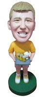 Custom Bobble Head | Beer Vendor Bobblehead | Gift Ideas For Men