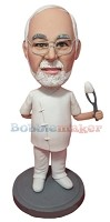 Custom Bobble Head | Male Dentist With Extracted Tooth Bobblehead | Gift Ideas For Men