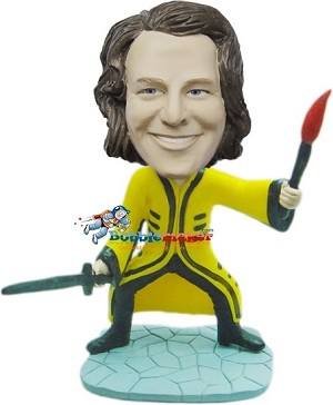 Fantasy Sword Fighter bobblehead Doll