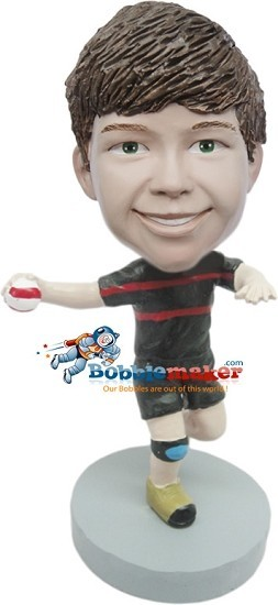 Custom Bobble Head | Boy Throwing Ball Bobblehead | Gifts for Kids