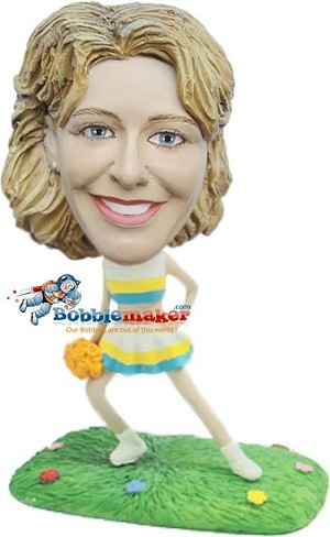 Custom Bobble Head | Female Cheerleader Bobblehead | Gift Ideas For Women