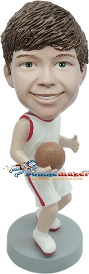 Custom Bobble Head | Boy Basketball Player Bobblehead | Gift Ideas For Men