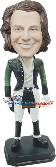 High Seas Pirate Male bobblehead Doll