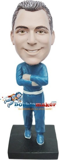 Male In Track Suit bobblehead Doll