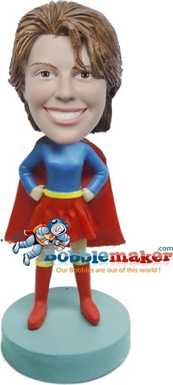 Custom Bobble Head | Superwoman Bobblehead | Gift Ideas For Women