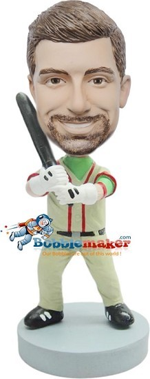 Custom Bobble Head | Classic Uniform Batter Bobblehead | Gift Ideas For Men