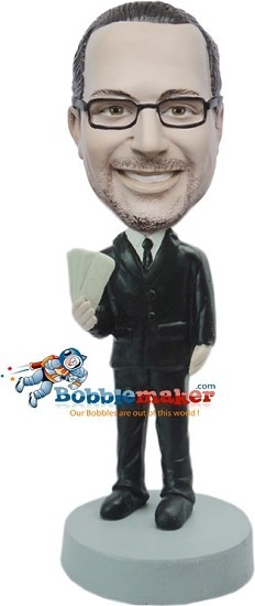 Custom Bobble Head | Boss With Money Bobblehead | Gift Ideas For Men