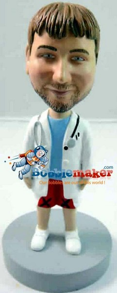 Doctor In Shorts bobblehead Doll
