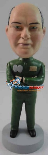 Military Man bobblehead Doll