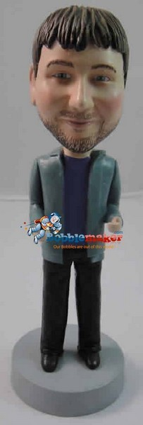 Snappy Dresser Man bobblehead Doll