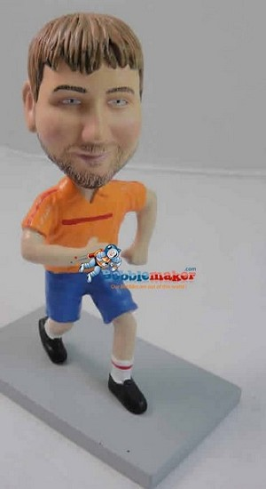Custom Bobble Head | Running Male Bobblehead | Gift Ideas For Men