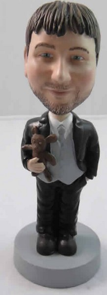 Businessman Dad bobblehead Doll